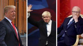 Trump's Wall, Boris Johnson's appointment, death of Beji Caid
