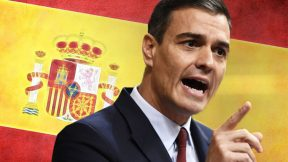 The first left-wing coalition government in Spain