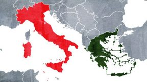 Greece capitulates Turkish claims in Italy delimitation deal
