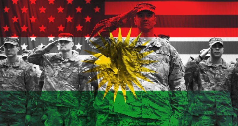 What will happen if US troops remain in Iraqi Kurdistan?