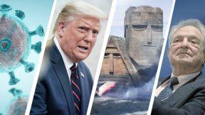 Escalation in Nagorno-Karabakh, coronavirus, Trump scandal, new PM in Mali
