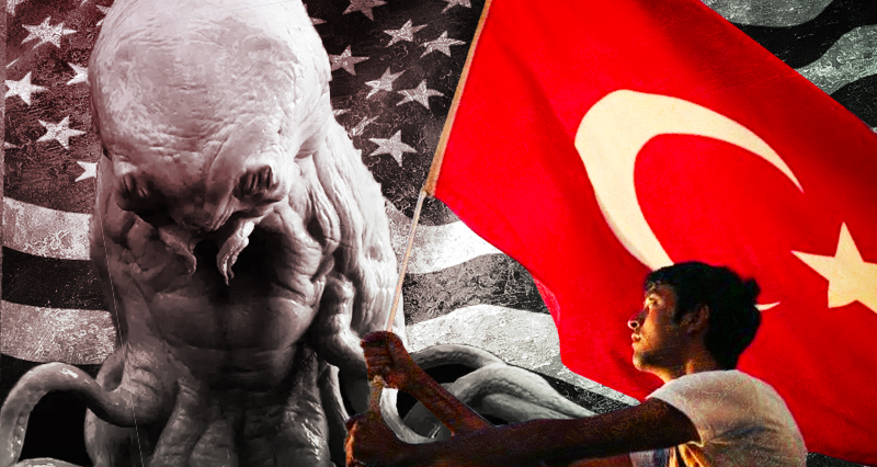 The Monster with One Tooth versus the Proud Men from Heaven: why US Imperialism will never defeat the Turkish Nation