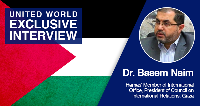 """Hamas Executive Basem Naim: """"Our response to Israel will be strong and clear"""""""