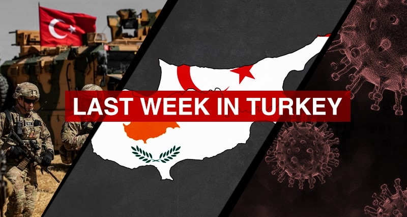 Turkish counter-terror military operation in southeast Turkey and northern Iraq; Two-state solution for Cyprus; the lockdown and vaccination efforts against the pandemic