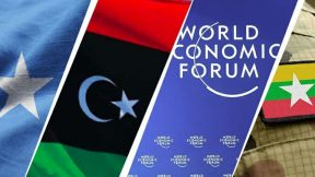 The coup in Myanmar, terrorist attack in Somalia, Libya's candidates, Davos forum, Uganda vs. Facebook