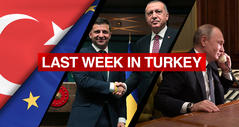 Turkey – EU Summit; Turkey – Ukraine Presidential meeting; Erdogan – Putin phone call; Turkish-Azerbaijani Defense Minister's videoconference;  Efforts against the coronavirus pandemic