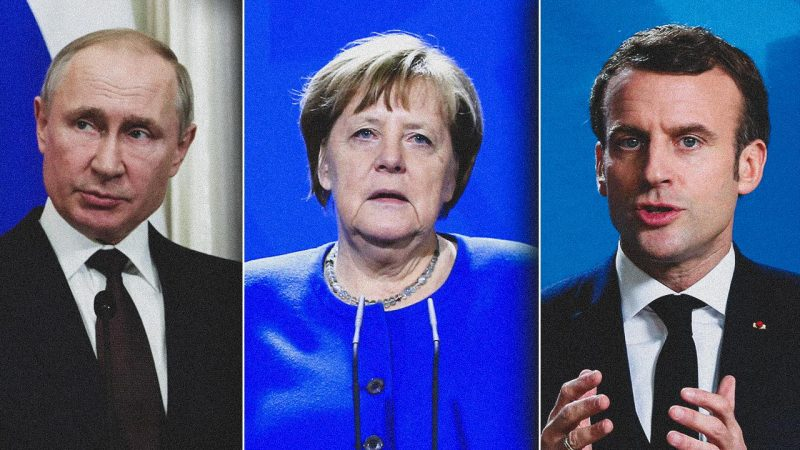 Video conference of Putin, Merkel and Macron: Europe searches for solutions while the US sabre rattles