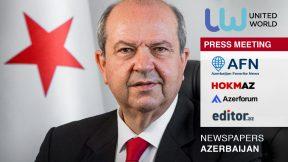 Azerbaijani media echoes widely UWI's Press Meeting with President Tatar