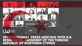 Video: UWI Press Meeting with Ersin Tatar, President of the Turkish Republic of Northern Cyprus