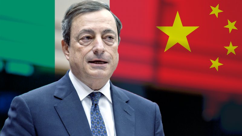 Does the Atlanticist Draghi take Italy off the Chinese Silk Road?