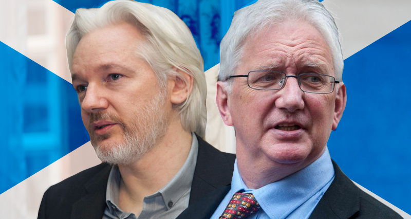 Julian Assange and the Independence of Scotland