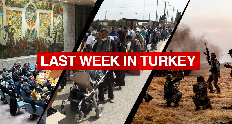 Reactions from Turkey and the TRNC to the UNSC statement regarding the reopening of Maras; Debates over potential measures against refugee waves from Syria and Afghanistan; Terror attacks against the Turkish Army in Northern Iraq and Syria