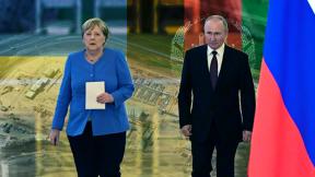 Last visit of Merkel to Putin
