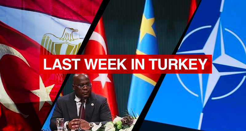 Second session of the exploratory talks between Turkish and Egyptian delegations; Congolese President's visit to Erdogan; The interview of the Turkish Defense Minister with remarks on regional issues