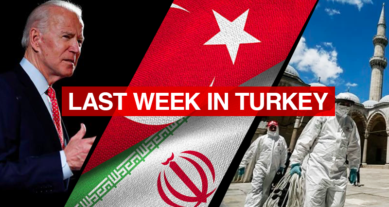 Biden's formal address to the Congress on the Turkish military operations in Syria; Iranian diplomatic delegation's visit to Turkey; Vaccination efforts and the fight against the Covid-19 pandemic In Turkey