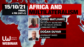 """""""Multilateralism and multipolarity offer Africa new paths for an own trajectory of development"""""""